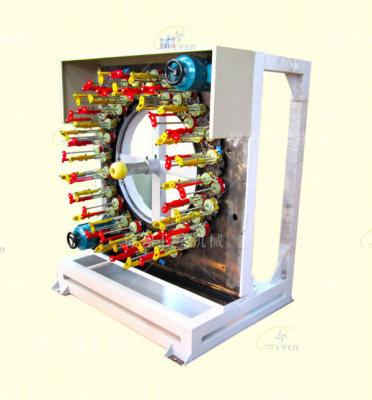泰安130-48锭卧式编织机