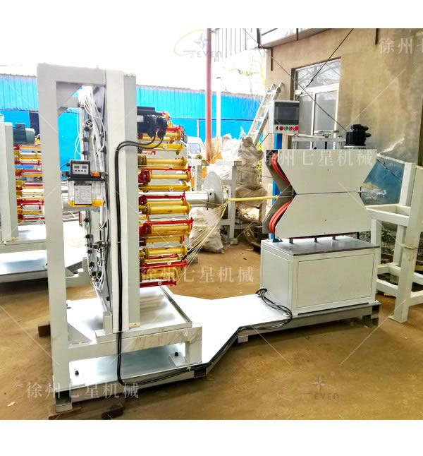 天门QX168-48锭卧式编织机