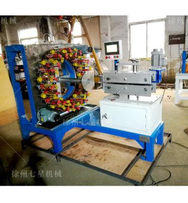 呼和浩特QX110-48锭卧式编织机