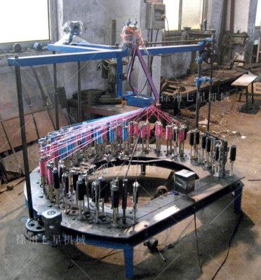 鹤岗花色带编织机