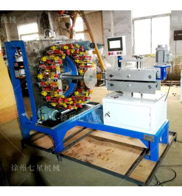 吉安QX110-48锭卧式编织机