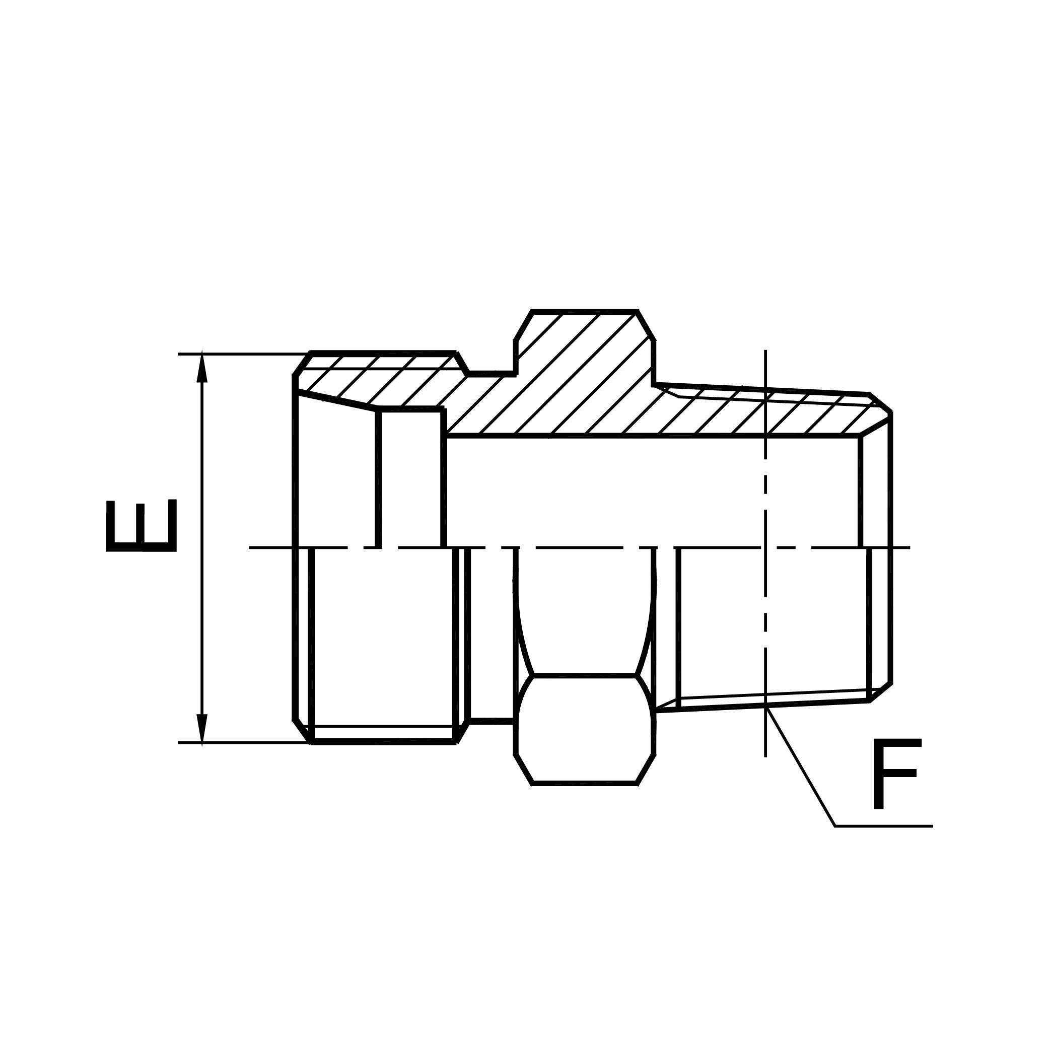 英锥管外螺纹 1CT-SP/1DT-SP