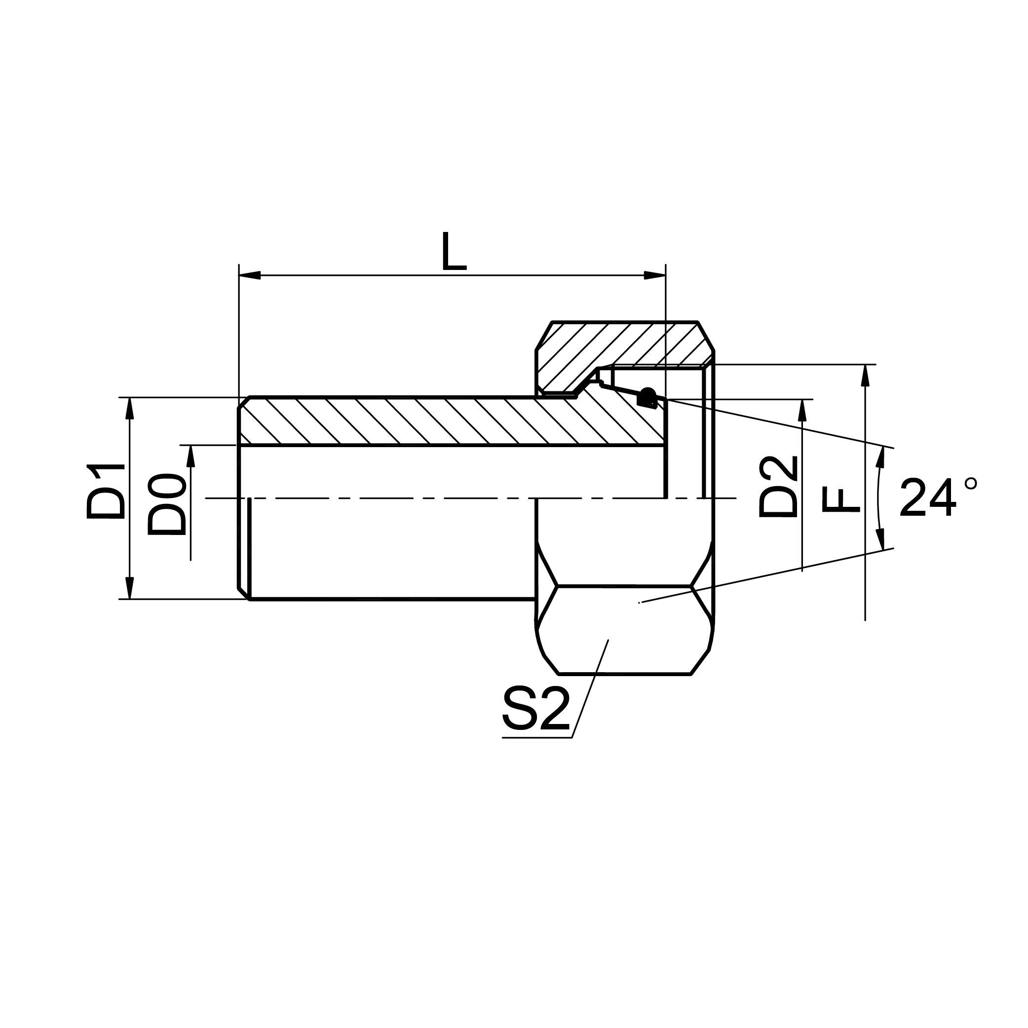 焊接接头 2WC/2WD