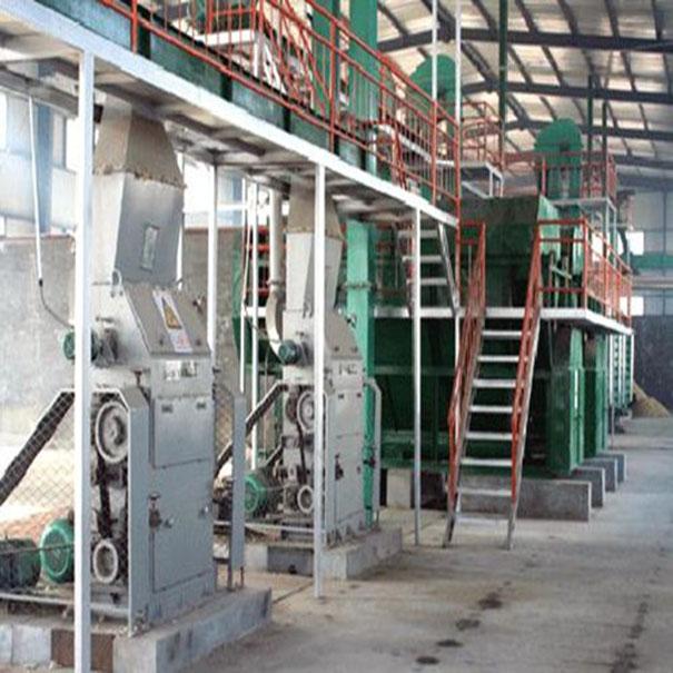 棉籽破碎机工段