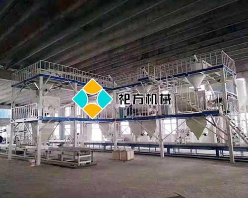 北京现浇复合保温模板设备生产线