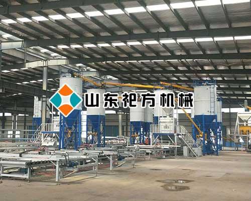 北京复合保温一体模板设备生产线