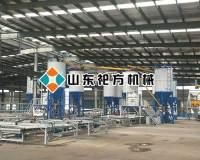唐山复合保温一体模板设备生产线