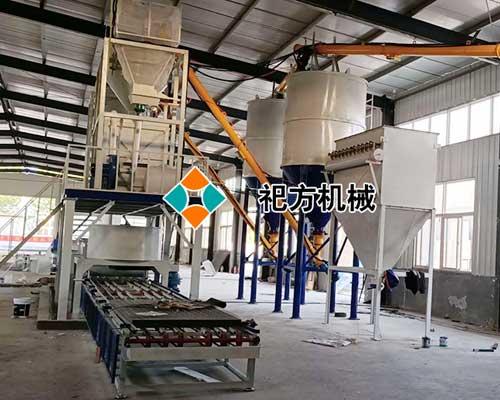 泰安钢丝网架保温模板生产线