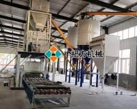 焦作钢丝网架保温模板生产线