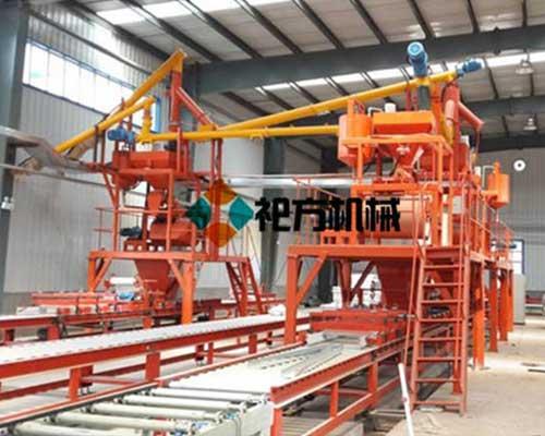 北京复合保温模板生产线