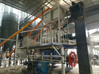 轻质墙板设备生产的产品应用于武汉总医院