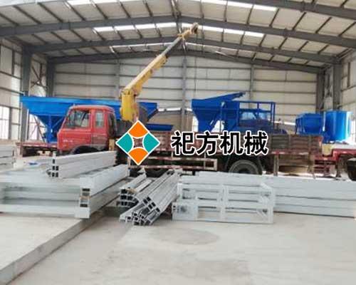 泰安复合保温模板设备生产线